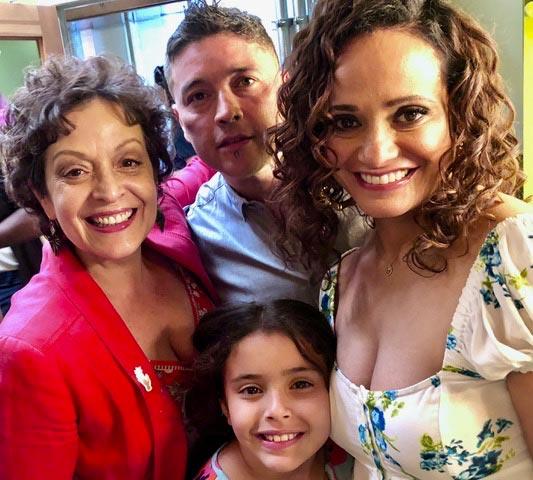 Claws Premiere - Marlene Forte & Judy Reyes