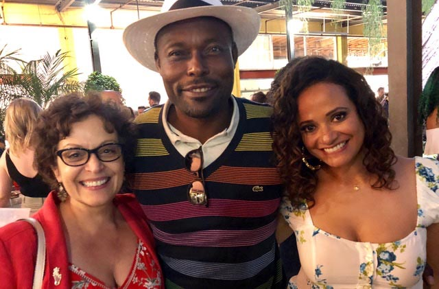 Claws Premiere with Judy Reyes and Jimmy Jean Louis