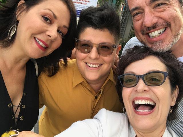 Marlene Forte, Patricia Rae, Ser Anzoategui, Oliver Mayer