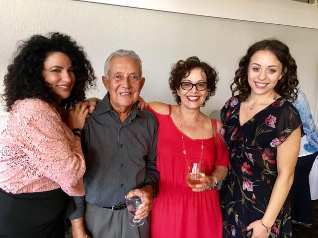 Marlene Forte and Family