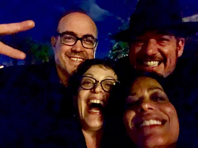 Marlene with Oliver Mayer & David Zayas